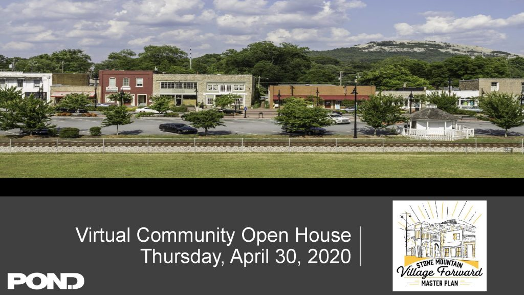 Open the Community Open House Presentation